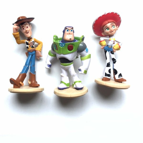 Toy story, şerif woody, jessie, buzz